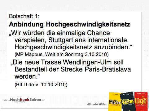 Grafik 2: Stuttgart 21