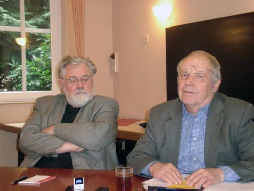 Herbert Hönigsberger, M.A., Moderator Prof. Reiner Diederich