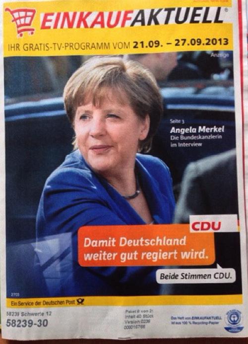 Damit Deutschland weiter gut regiert wird