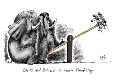 Checks an Balances im neuen Bundestag