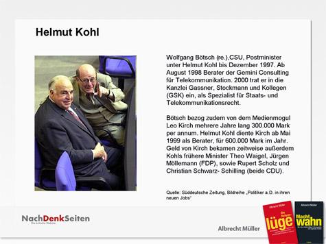 Kohl, Kirch
