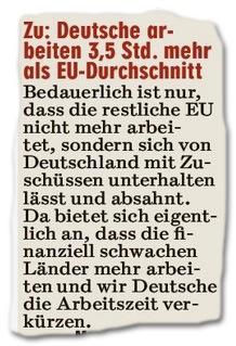 Deutsche Äpfel dicker als EU-Birnen