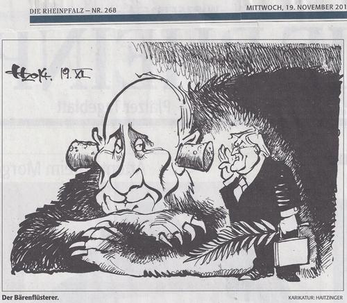 Putin der Bärenflüsterer