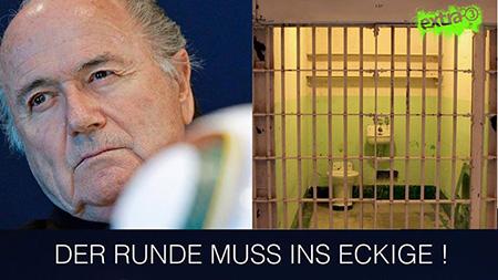 Blatter - Der Runde muss ins Eckige