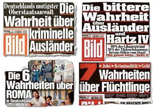 #BILDnotwelcome – Wie Deutschlands Hetzblatt aus dem Flüchtlingselend Kapital schlagen will
