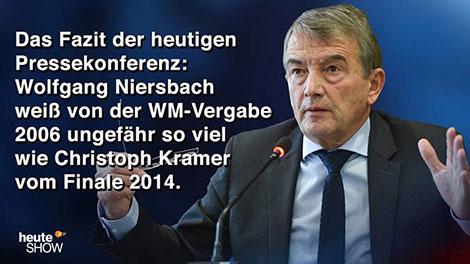 Niersbach weiß gar nichts