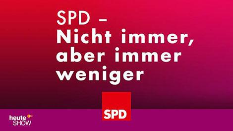 SPD nicht immer aber immer weniger
