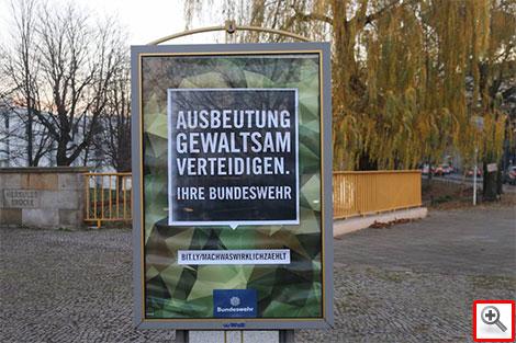 Bundeswehr - Ausbeutung gewaltsam verteidigen