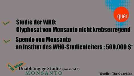 Monsanto spendet 500.000 Dollar an Institut, das Glyphosat für nicht krebserregend hält