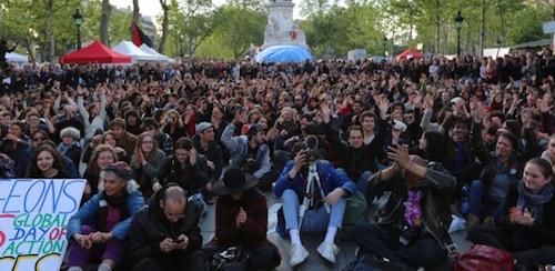 Die verdrängten Massenproteste von Paris