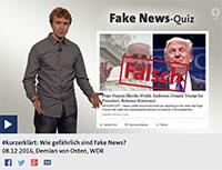 Fake News? Das ist doch ein alter Hut