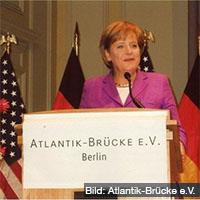 Merkel Atlantik Brücke
