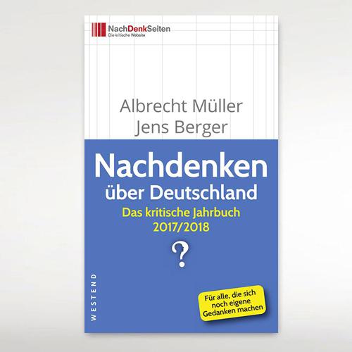 """Des kritischen Jahrbuchs 2017/2018 """"Nachdenken über Deutschland"""""""