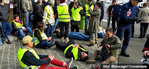 """49a8d44981de8 JWD-Nachrichtenlinks - Macron und sein Problem mit den """"gelben ..."""