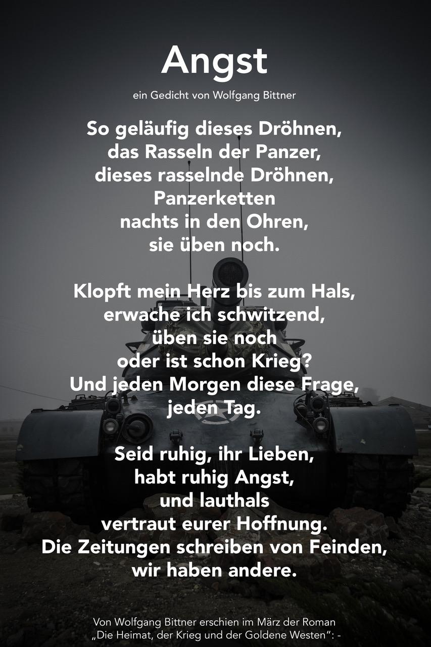 Wolfgang Bittner - Angst