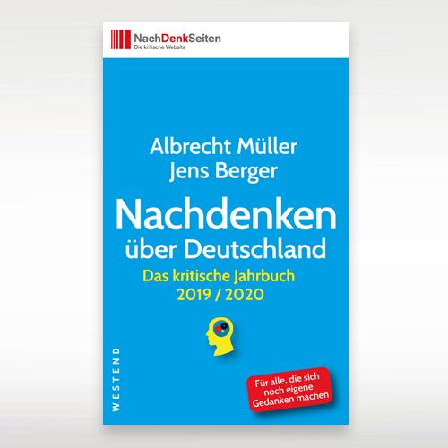 """Das kritische Jahrbuch 2019/2020 """"Nachdenken über Deutschland"""""""
