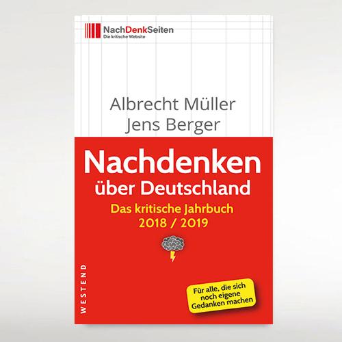 """Des kritischen Jahrbuchs 2018/2019 """"Nachdenken über Deutschland"""""""