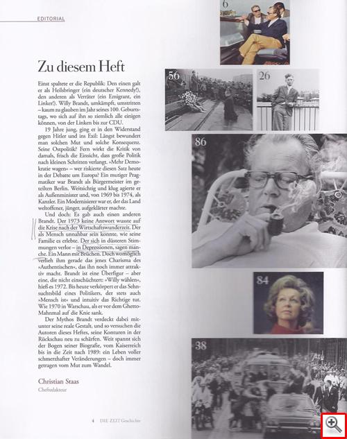 ZEIT Geschichte Sonderheft zu Willy Brandt
