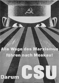 CSU Wahlplakat 1953