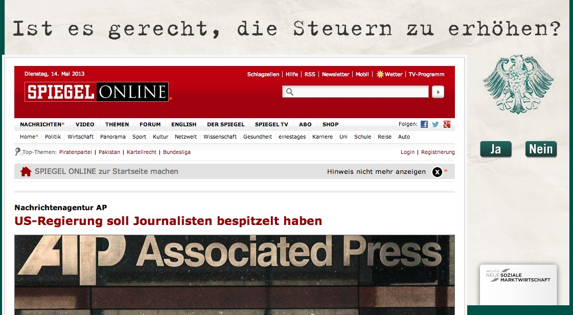 offene Ablage: nothing to hide