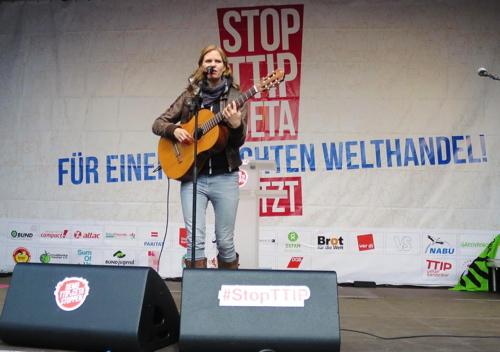 TTIP-Demonstration in Hannover