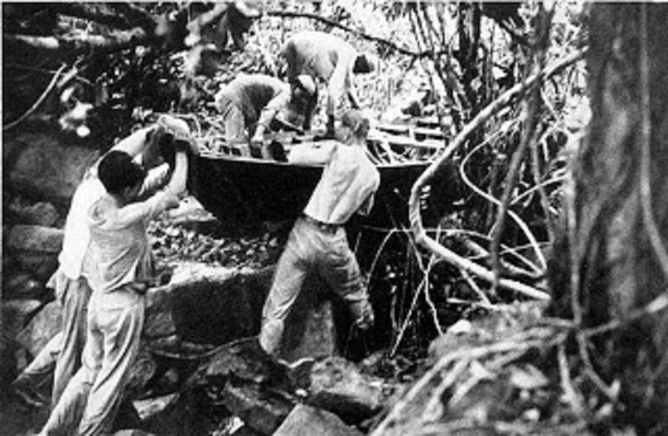 Hitlers SS im Amazonas-Dschungel – Das halsbrecherische Abenteuer einer wirren Nazi-Expedition, die 1935 gegen den Strom des Jari kämpfte