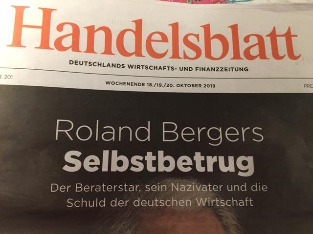 """Roland Berger: Die Lebenslüge """"der personifizierten Deutschland AG"""". Unternehmer, Politiker und Leitmedien trugen die Lüge mit – jahrzehntelang, transatlantisch."""