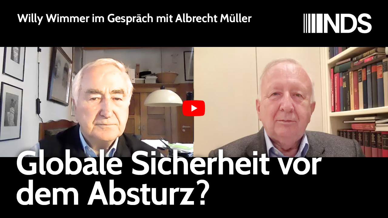 Willy Wimmer im Gespräch mit Albrecht Müller
