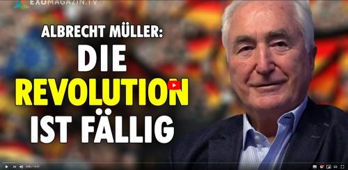 Dirk Pohlmann im Gespräch mit Albrecht Müller