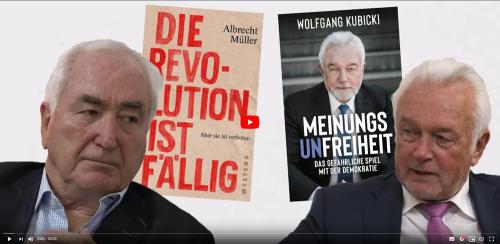 Wolfgang Kubicki im Gespräch mit Albrecht Müller
